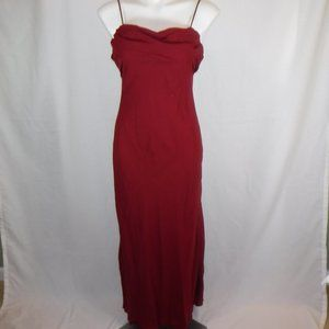 Wine Colored Prom or Special Occasion Dress